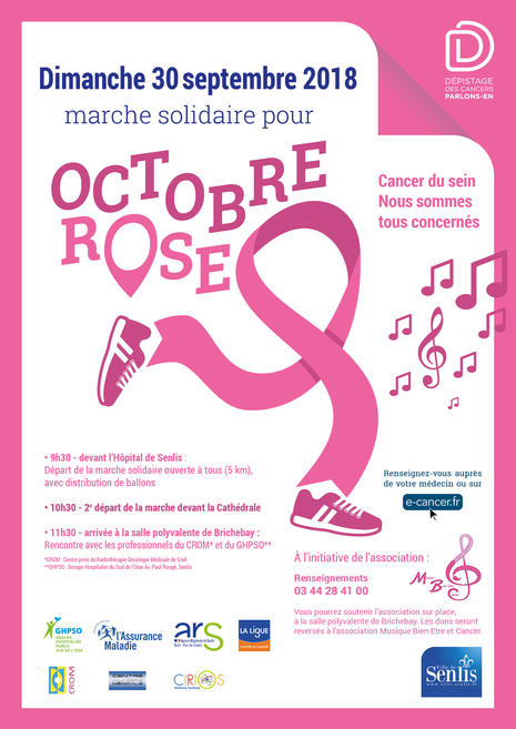 OCTOBRE ROSE 2018 - Affiche