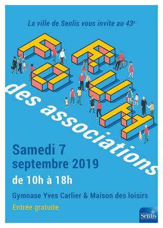 Forum des Associations - Affiche - Senlis 2019