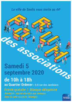 Ville de Senlis - Forum des Associations Affiche 2020